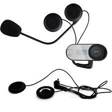 FDC TCOM-SC Motorbike Btooth Intercom Radio Helmet Headset+Earpiece+Clip Mount