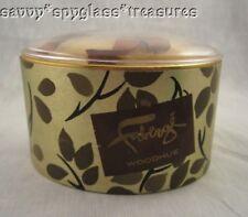 Faberge Woodhue Vintage Unopened 5 oz. Box of Dusting Powder