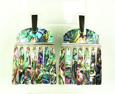 KENDRA SCOTT Layne Gold Plated Abalone Shell Chandelier  Earrings
