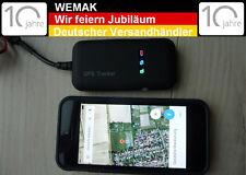 KFZ Mini GPS/GSM/GPRS SMS Ortungssystem Peilsender Spionage Online Überwachung