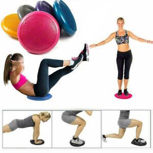 Inflatable Balance Stability Wobble Cushion Balance Board Pad Exercise Fitness