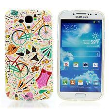 Samsung Galaxy S4 TPU Silikon Case Handy Schutz Hülle Design Involto