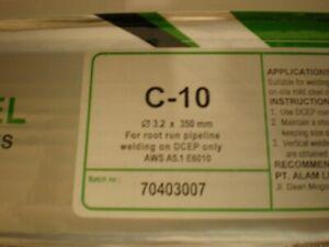 C-10 6010 3.2mm x 350mm x 2kilo Arc Welding Electrodes / Rods / Stick