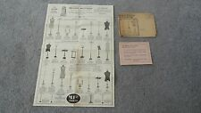 1920's BRAGER BROTHERS Garment Store Fixtures Advertising Ephemera 7th Ave NY