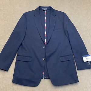 Tommy Hilfiger Men's Soft Jacket Blazer Navy Blue Size 42 Regular Retail $395