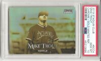 2019 Topps Stadium Club Chrome MIKE TROUT, PSA 10,  GOLD MINTED REFRACTOR, POP 4