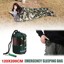 Emergency Sleeping Bag Ultralight Thermal Waterproof Survival Travel Camping Hot