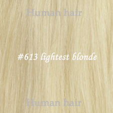 """80G 100G120G 22""""-30"""" 18Colors Thick Full Head Clip in Human Remy Hair Extensions"""