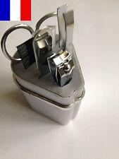 Box 5pcs Manucure Epilation Pince Brosse Cils Ciseaux Coupe Ongle Lime Kit Epile