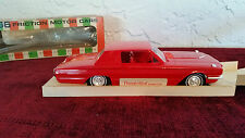 1966 Ford Thunderbird Promotional Car, Original Box, Mint in Box, Red, AMT