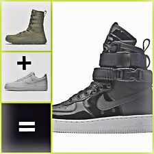 * 🎀👢👜🖤*Nike SF-AF 1 Se Prm Hi * BAG Nike+New+Box* Eur 36,5 * US 6 * UK 3,5