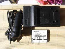 Battery and Charger für Olympus LI-90B / LI-92B TG-1 TG-2 TG-3 TG-4 XZ-2