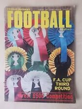 FOOTBALL MONTHLY MAGAZINE JANUARY 1969 - FA CUP EDITION - LIVERPOOL