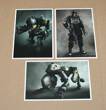 Wolfenstein the New Order Promo Postcard tarjetas postales set ps3 ps4 Xbox One 360
