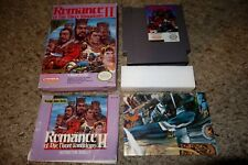Romance of the Three Kingdoms II 2 (Nintendo NES, 1991) Complete Poster GOOD #2