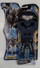 Batman-Dark Knight Batman Figura de acción de lujo de huelga de vuelo 2011 Mattel Nuevo