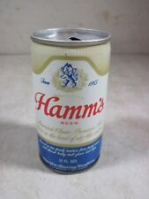 Vintage Hamm's Aluminum Pull Top Tin Beer Can Empty Hamms 12 OZ USA