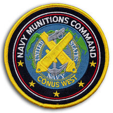 US Navy MUNITIONS COMMAND CONUS WEST Naval Weapons Station Yorktown VA