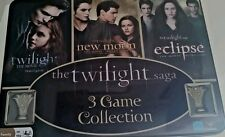 The Twighlight Saga 3 Game Collection Tin Boardgame 100% Complete!