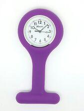 Enfermera Fob Watch por Ravel púrpura R1103.7