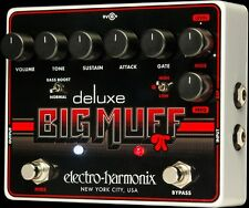New Electro-Harmonix EHX Deluxe Big Muff Pi Distortion Fuzz Overdrive Pedal
