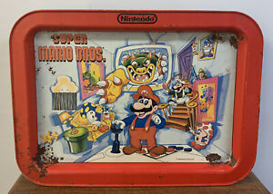 Vintage 1989 Nintendo Super Mario Bros. TV Dinner Tray Wall Art Gamer