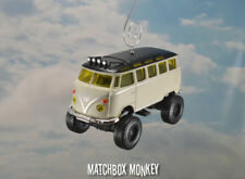 Jacked Up 4x4 Off Road Volkswagen Van Bus Ornament VW Samba Kombi Split Window