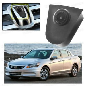 CCD Car Front View Camera Logo Embedded Waterproof for Honda Accord 2008-2012
