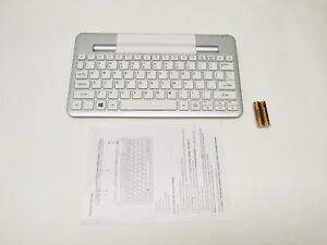 Acer Silver Bluetooth Keyboard Dock for Iconia W3-810 - NEW