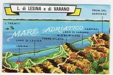 figurina TUTTA ITALIA FOL. BO SERIE NUMERO 1 NEW N. 283 LAGHI DI LESINA