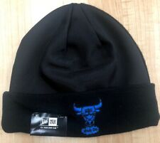 6a759cb16559 Chicago Bulls Men s New Era Street Beanie Knit Windy City Space Jam Black  W Tags