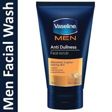 Vaseline Men Anti Dullness Face SCRUB Facial Cleanser Foam 100 grams