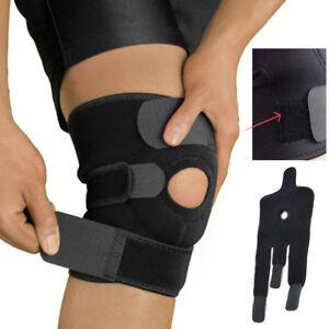 Wrap Around Knee Brace Compression Brace Support Adjustable Knee Open Patella