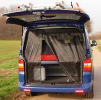 Moskitonetz Mückennetz Fliegennetz Heckklappe passend für VW T5, T6 ab Bj.2003