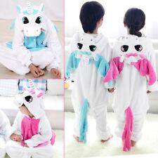 Enfant Pyjama Licorne Flanelle Cosplay Animal Déguisement Fille Garçon Printemps