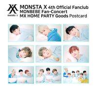 MONSTA X 4th Official Fanclub MONBEBE FANCON MX HOME PARTY Official Postcard