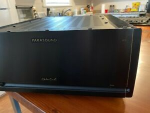 Parasound JC 5 power Amp BLACK, 400 watts x 2 at 8 ohms, XLR & RCA inputs, Used.