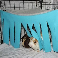 Pets Hamster Cage Hanging Bed Nest Guinea Pig Hideout Hideaway Cage Rabbits New