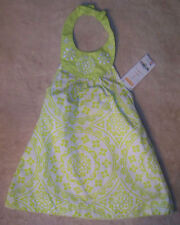 NWT NIP GYMBOREE Green ISLE dress Mosaic Halter girl sz 2T