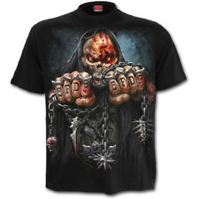 Spiral 5FDP GAME OVER Licensed Band T-Shirt Five Finger Death Punch Plus/3XL/4XL