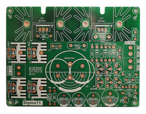 Sigma11 Linear Regulated Power Supply Bare PCB Board For DAC Headphone Amp DIY
