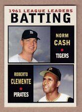 Roberto Clemente & Norm Cash '61 Batting - Monarch Corona Leaders Series #3