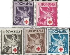 Romania 696-700 (complete issue) unmounted mint / never hinged 1941 Red Cross