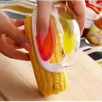 Useful Corn Kernel Stripper Remover Kitchen Cooking Tools Cob Cutter Peeler MT