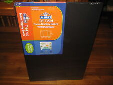 Elmer's Premium Tri-Fold Foam Display Board, 36 x 48 Inches, Black, Single Bo...