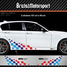 3051 COMMPETITION FLAG BMW 1er F40 F20 F21 E87 E81 E82 1M M POWER Aufkleber
