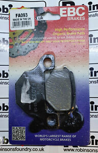 EBC Brake Pads Fits Front or Rear Depending on Application - Various Bike FA093