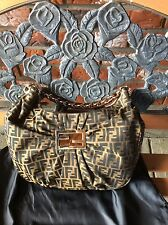 Brand new authentic Fendi Zucca bag without tags