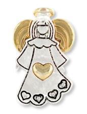 Angel Of Heart Wings & Wishes Angel Pin/Pendant NIB