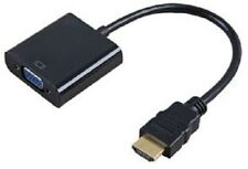 HDMI to VGA  Output Cable Converter Adapter Lead for HDTV PC PS3 Xbox Fast& Free
